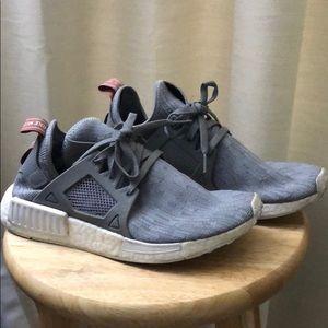 Grey NMD's
